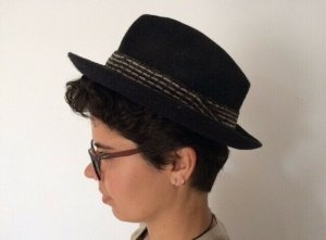 Felt Hat anthracite-grey