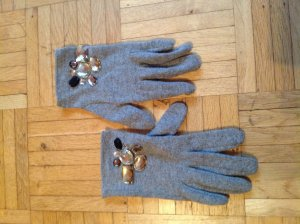 H&M Knitted Gloves multicolored felt