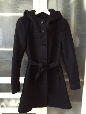 Hugo Boss Cappotto in lana nero Lana