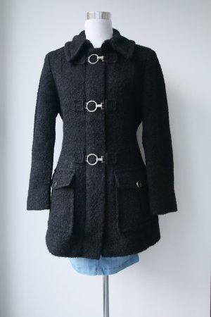 Woll/Mohairmantel in schwarz von Gil Bret in Größe 38