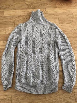 GCfontana Jersey de lana gris claro