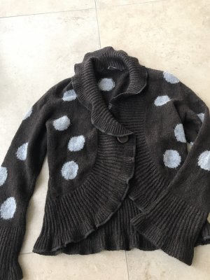 Woll Pullover Luxus MARC CAIN Wolle Winter Gr M