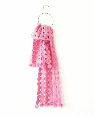 Free People Knitted Scarf pink-pink
