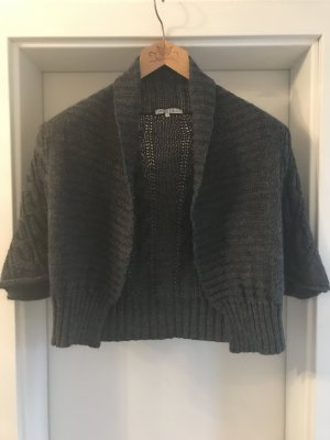 Anna Field Knitted Bolero dark grey