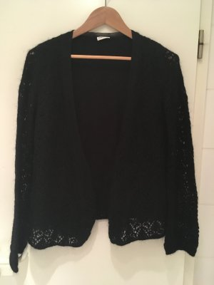 Gerry Weber Cardigan all'uncinetto nero Lana