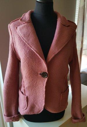Please Wool Blazer dusky pink