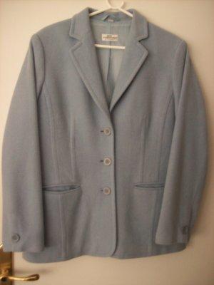 Best Connections Blazer en laine bleu pâle tissu mixte