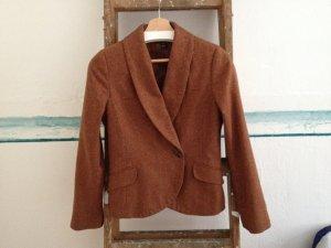 H&M Tweed blazer veelkleurig Wol