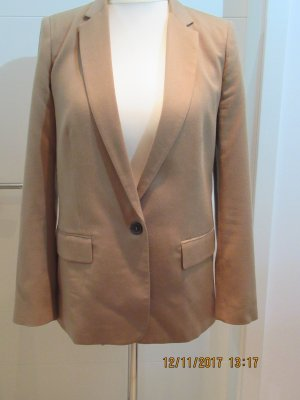 Zara Long Blazer light brown