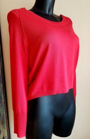 Marc Cain Jersey de lana rojo Lana