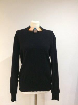 Wolle Pullover schwarz von Benetton- sehr weich!!!