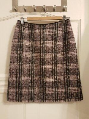 Olsen Gonna di lana malva-viola-grigio