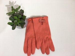 H&M Gloves salmon