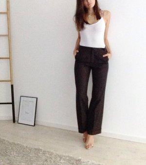 Bogner Woolen Trousers black brown