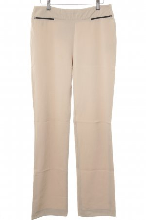 Woolen Trousers beige casual look