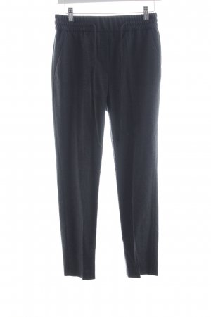 Woolen Trousers dark grey casual look