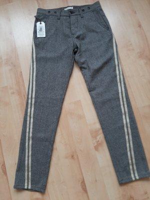 Replay Woolen Trousers dark grey