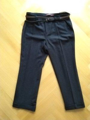 Comptoir des Cotonniers Wollen broek donkerbruin-zwart bruin