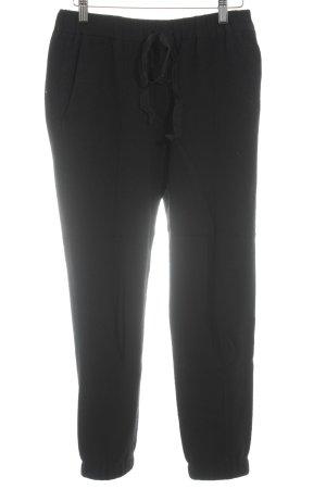 Wollen broek zwart casual uitstraling