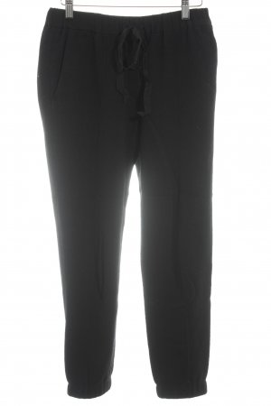 Woolen Trousers black casual look