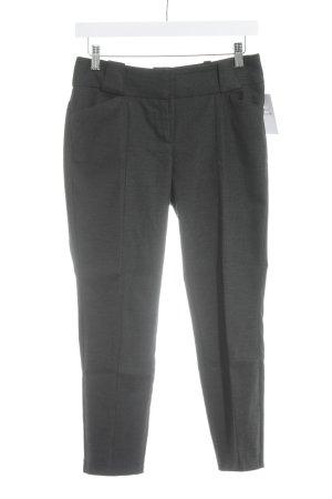 Woolen Trousers black-dark grey zigzag pattern business style