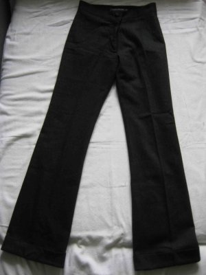 Tom Tailor Pantalon en laine gris anthracite laine