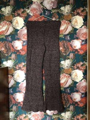 Wollhose von Weekday mit Wide Leg