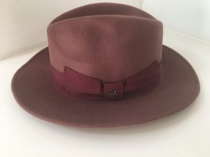Wollen hoed bruin Wol