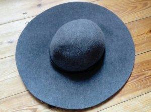 H&M Premium Wollen hoed veelkleurig Wol