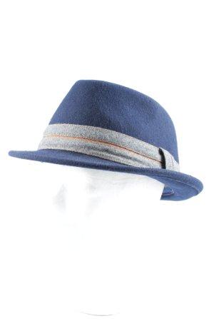 Cappello di lana multicolore stile vintage