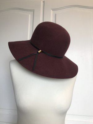 H&M Woolen Hat bordeaux