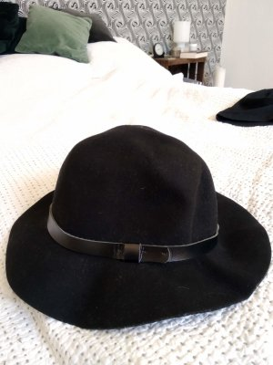 H&M Felt Hat black wool