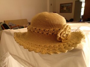 Madison Floppy Hat beige