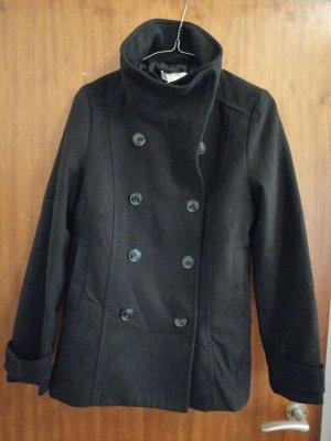 H&M Chaqueta de lana negro
