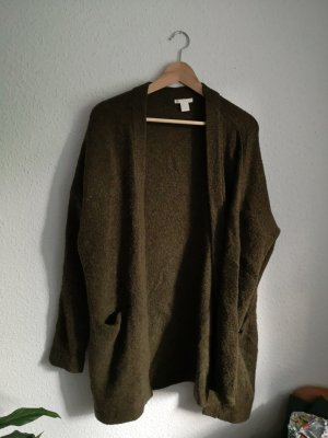 H&M Wool Jacket dark green
