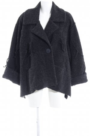 Wolljacke anthrazit Casual-Look