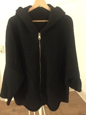 Chaqueta de lana negro
