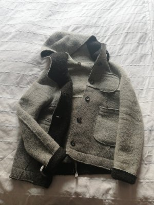 Veste en laine gris