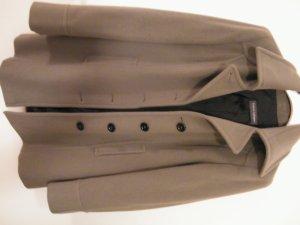 Wolljacke grau/schlammfarben von Franco Callegari