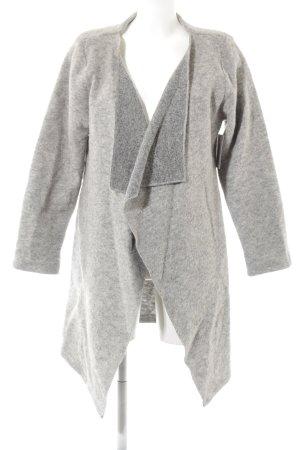 Giacca di lana grigio chiaro-grigio Colore sfumato stile casual