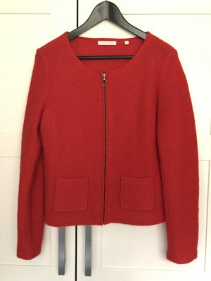 Christian Berg Wool Jacket red wool