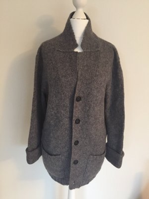 Dondup Coarse Knitted Jacket grey