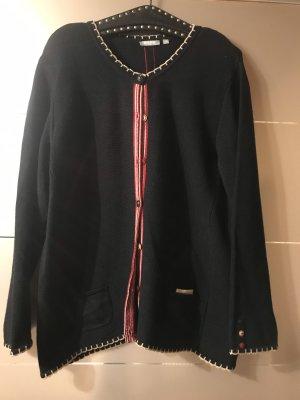 Rabe Giacca di lana blu scuro-magenta