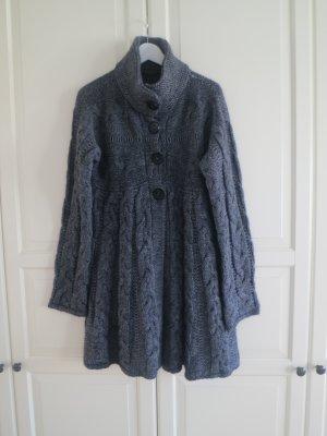 Wolljacken/mantel Kleid von Benetton in Grau, Grösse M