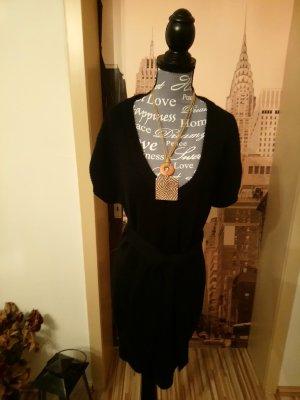 H&M Vestido de lana negro