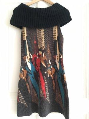 Lavand Vestido de lana multicolor