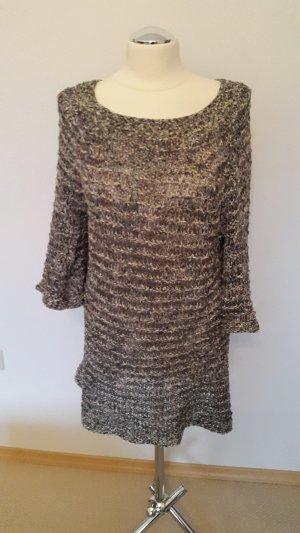 Wollkleid in grau von Lana Grossa