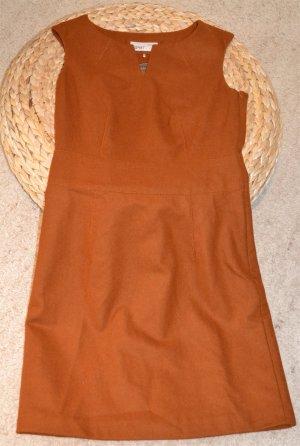 Wollkleid in hellbraun von ESPRIT