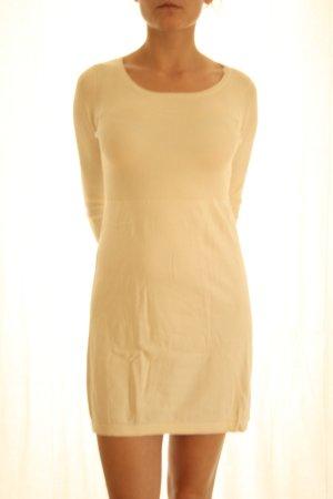 Mango Basics Wollen jurk wolwit Viscose