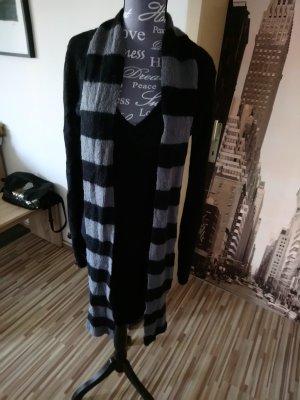 3 Suisses Wollen jurk zwart-grijs